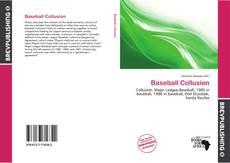 Baseball Collusion kitap kapağı