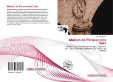 Capa do livro de Maison de Pérusse des Cars