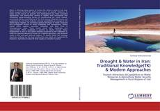 Portada del libro de Drought & Water in Iran: Traditional Knowledge(TK) & Modern Approaches