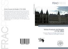 Buchcover von Victor-François de Broglie (1718-1804)