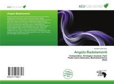 Buchcover von Angelo Badalamenti