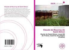 Buchcover von Claude de Rouvroy de Saint-Simon