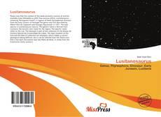 Lusitanosaurus kitap kapağı