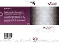 Maynor Dávila kitap kapağı