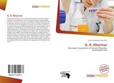 Bookcover of G. R. Khairnar