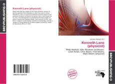 Bookcover of Kenneth Lane (physicist)