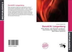 Buchcover von Donald N. Langenberg