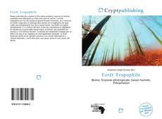 Copertina di Forêt Tropophile