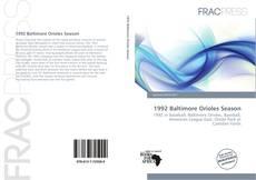 Bookcover of 1992 Baltimore Orioles Season