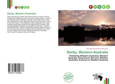 Bookcover of Derby, Western Australia