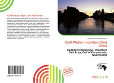 Bookcover of Gulf Plains Important Bird Area