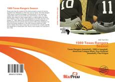 Bookcover of 1989 Texas Rangers Season