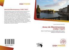 Capa do livro de Anne de Montmorency (1492-1567)