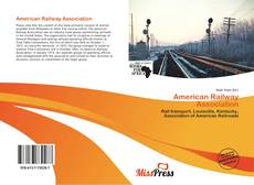 Bookcover of American Railway Association