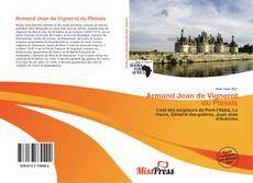 Capa do livro de Armand Jean de Vignerot du Plessis