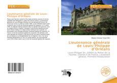 Обложка Lieutenance générale de Louis-Philippe d'Orléans