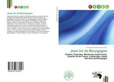 Jean Ier de Bourgogne kitap kapağı