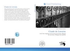 Couverture de Claude de Lorraine