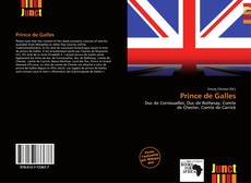 Capa do livro de Prince de Galles