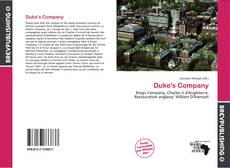 Bookcover of Duke's Company