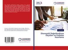 Ekonomik Değerlendirme Ölçütleri ve Fizibilite Hazırlama的封面