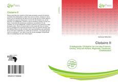 Capa do livro de Clotaire II