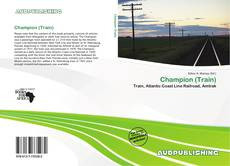 Capa do livro de Champion (Train)