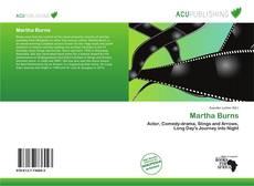 Buchcover von Martha Burns