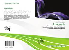 Buchcover von Dyschromie