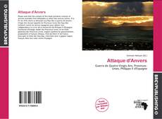 Bookcover of Attaque d'Anvers