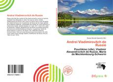 Bookcover of Andreï Vladimirovitch de Russie