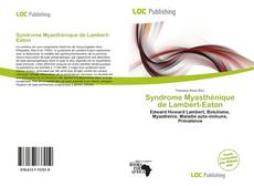 Bookcover of Syndrome Myasthénique de Lambert-Eaton