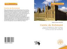 Bookcover of Comte de Richmond