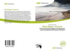 Blind Bight, Victoria kitap kapağı