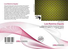 Portada del libro de Luis Ramírez Zapata