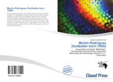 Portada del libro de Martín Rodríguez (footballer born 1968)