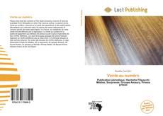 Vente au numéro kitap kapağı