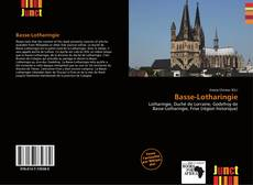 Copertina di Basse-Lotharingie