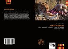 Capa do livro de Achal Prabhala