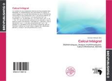 Buchcover von Calcul Intégral
