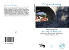 Bookcover of History of Shanghai