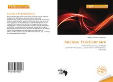 Bookcover of Analyse Fractionnaire
