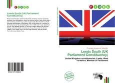 Bookcover of Leeds South (UK Parliament Constituency)