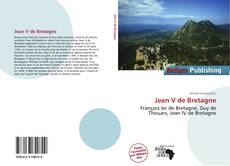 Bookcover of Jean V de Bretagne