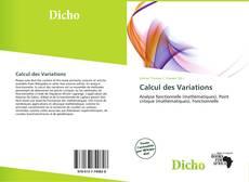Borítókép a  Calcul des Variations - hoz