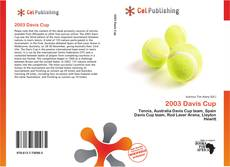 Bookcover of 2003 Davis Cup