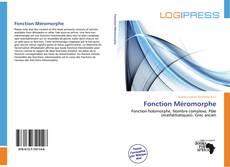 Copertina di Fonction Méromorphe