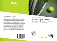 Bookcover of 2003 US Open (Tennis)