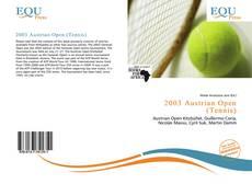 Copertina di 2003 Austrian Open (Tennis)
