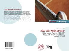 Borítókép a  2003 Breil Milano Indoor - hoz